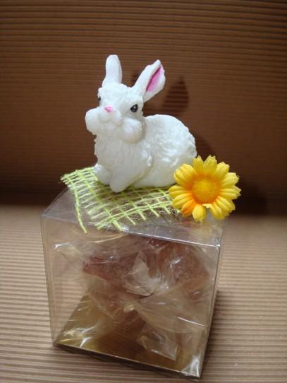 Cr ation en sucre pour p ques la bo te sucre - Pinceau patte de lapin ...